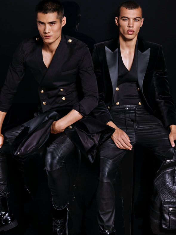Balmain-HM-2015-Menswear-Collection-008